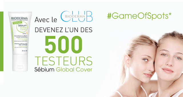 Test Gratuit Bioderma 500 Soins Sebium Global Cover !