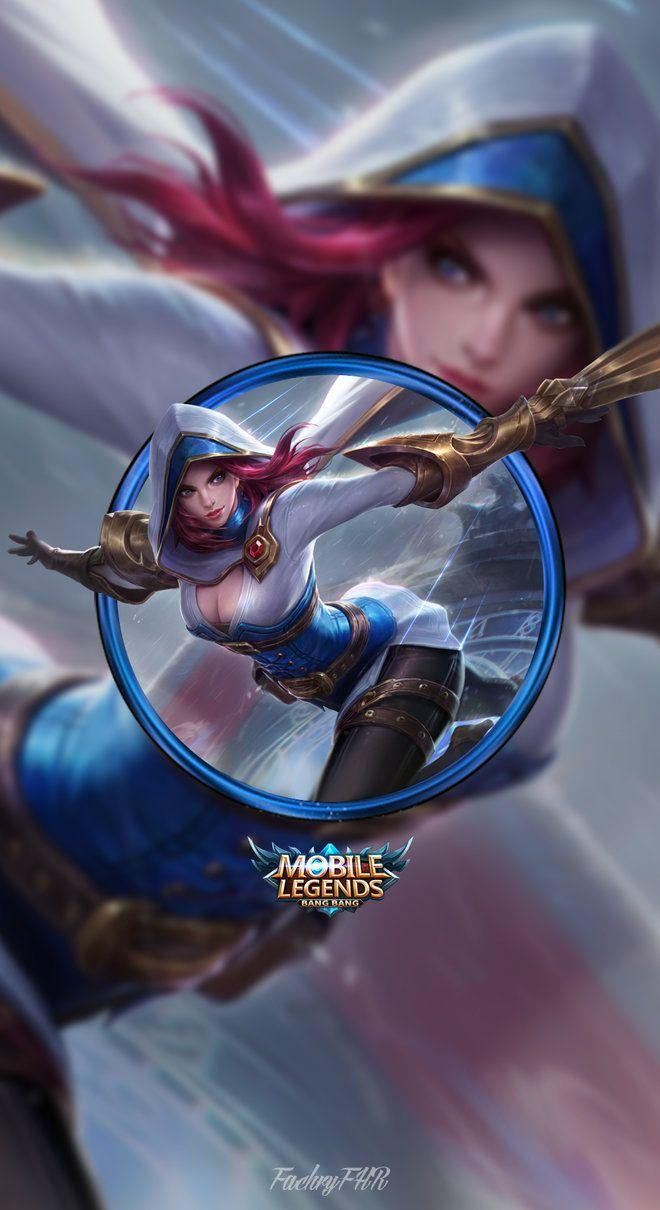 Wallpaper Natalia Bright Claw Skin Mobile Legends for Android and iOS