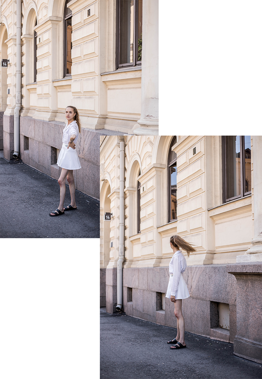 Inspiraatiota kesäpukeutumiseen: tennishame // Summer fashion inspiration: tennis skirt