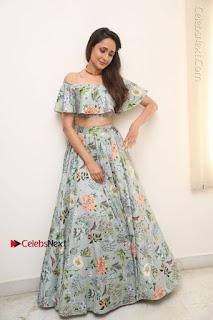 Actress Pragya Jaiswal Stills in Floral Dress at turodu Interview  0199.JPG
