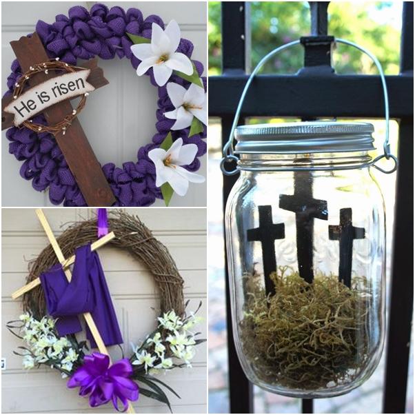 decoração para páscoa jesus cristo