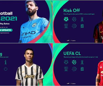 PES 2013 Simple Graphic Menu PES 2021