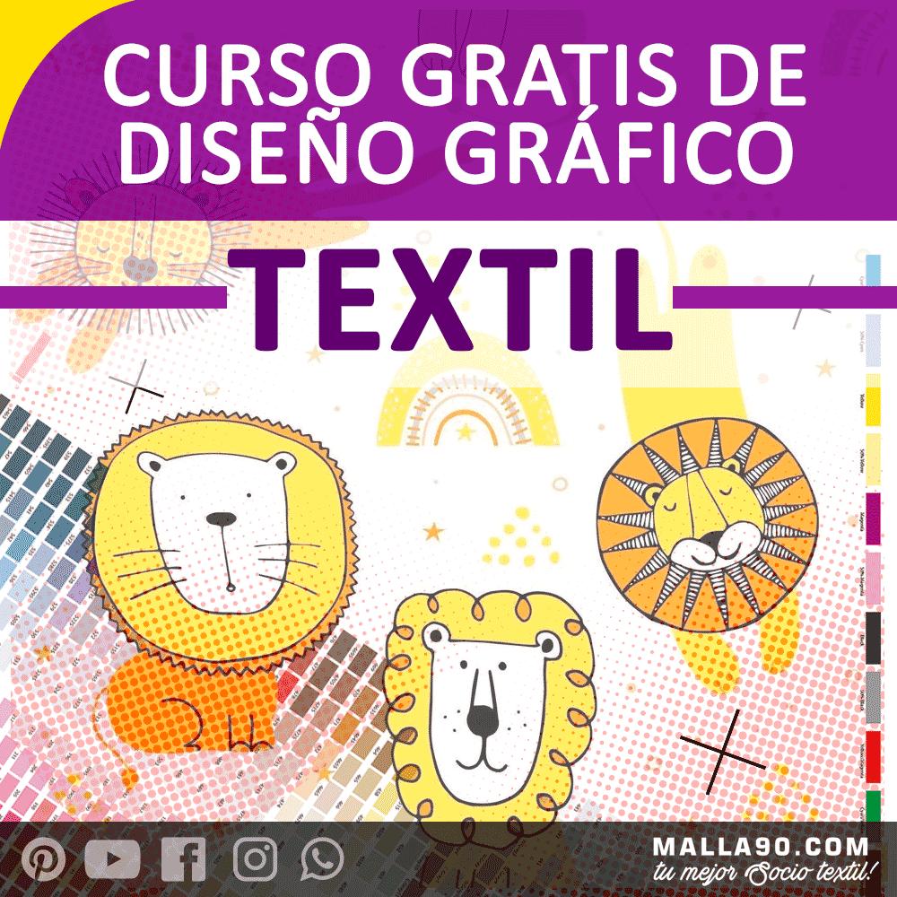 curso de diseño grafico textil