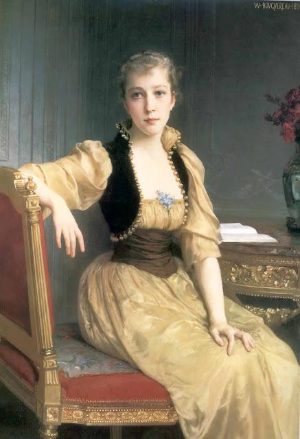 Адольф Вильям Бугро - Леди Максвелл (1890)