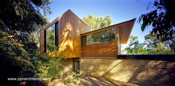 Estudio de madera diseño contemporáneo en Victoria, Australia