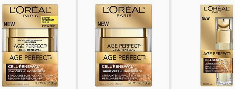Reveal Your Younger-Looking Skin -- L'Oreal Age Perfect Cell Renewal -- Get Your Coupon!