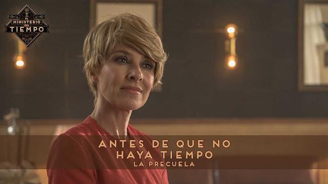 Cayetana Guillen Cuervo en 'Antes de que no haya tiempo' precuela de la cuarta temporada de 'El Ministerio del tiempo'
