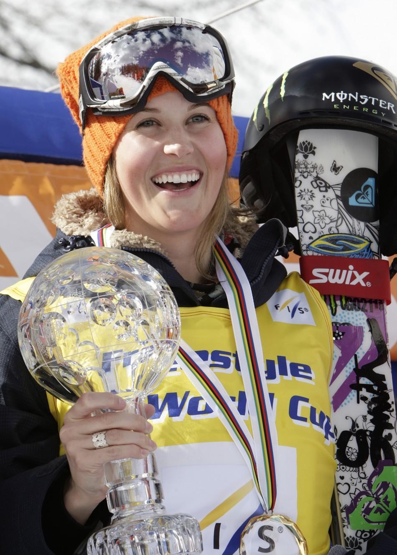 SPORTIGE Sarah Burke Canadian Freestyle Skier
