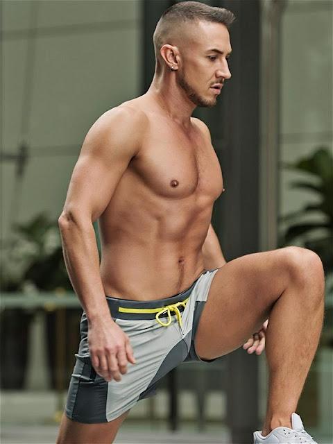 2Eros Pro Aktiv Gym Shorts Titanium Gayrado Online Shop