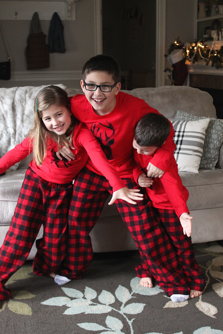 Sew Family Jammies // Sibling Pajamas