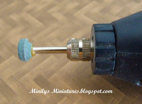 """minilys miniatures"" mini-drill, 1:12"