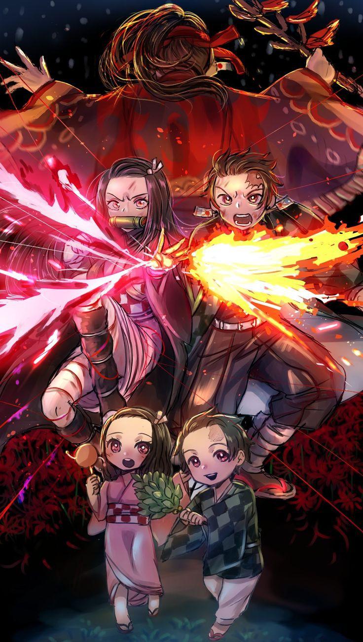 Newest Demon Slayer Anime Wallpaper   Kimetsu No Yaiba ...