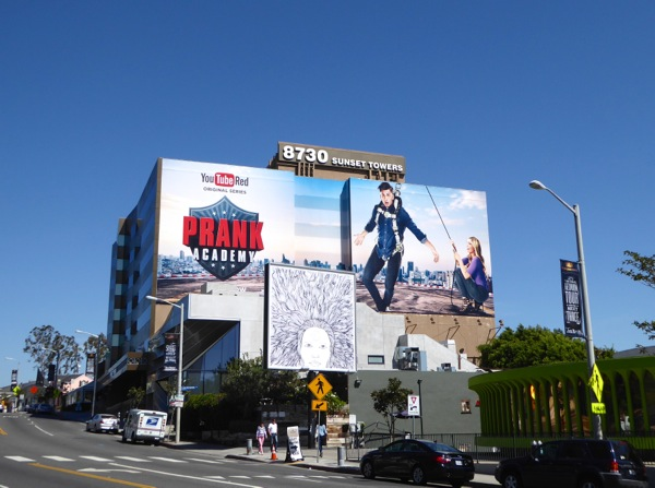 Prank Academy YouTube Red series billboard