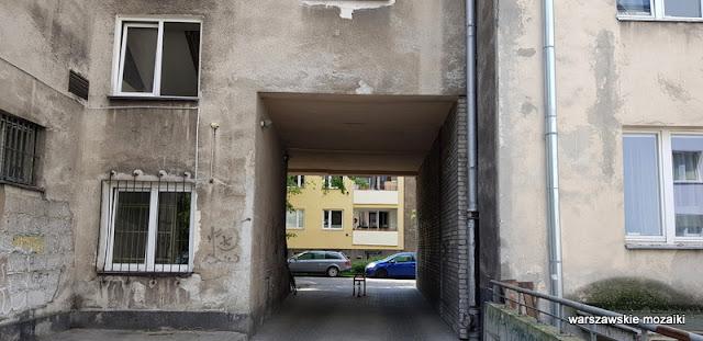 warszawa warsaw powiśle ulice warszawy architektura syrkus henrich kamienica architecture podwórko