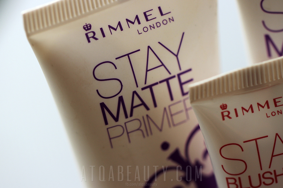 Rimmel, Stay Matte Primer, Stay Blushed!, Stay Matte Foundation