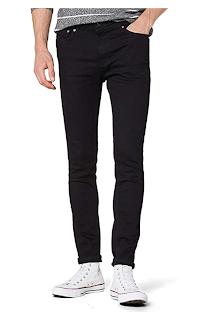 Pantalones Hombre negro