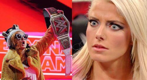 أليكسا بليس تتهم بيكي لينش بسرقة مظهر وأسلوب أحد نجوم WWE