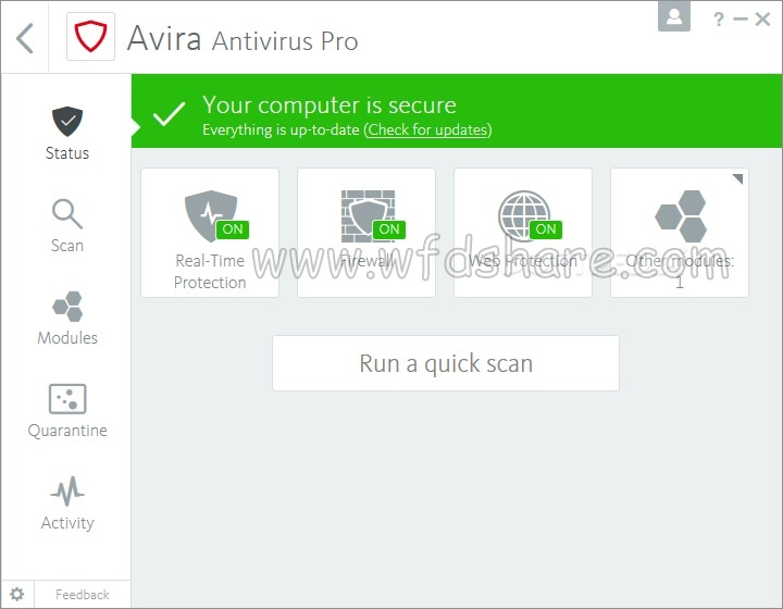 Free Download Setup Avira Antivirus Pro