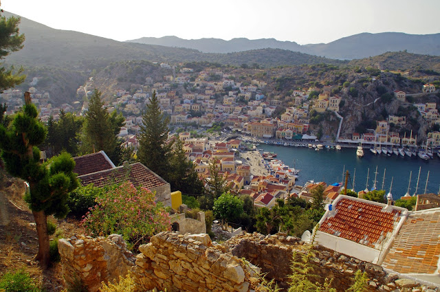 Panorama of Simi Island