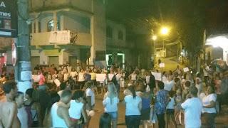 População se manifesta e pedem segurança e cobram criação da Guarda Municipal em Cariacica (ES)