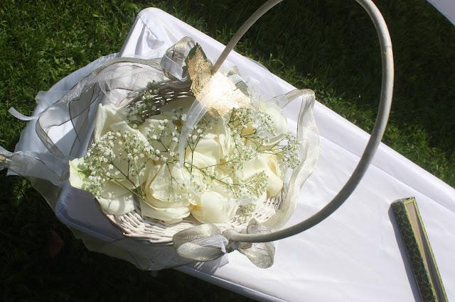 Streukörbchen, Gold und Weiß, goldene Sommerhochzeit im Riessersee Hotel Garmisch-Partenkirchen, gold white wedding in Garmisch, Bavaria, lake-side, summer wedding