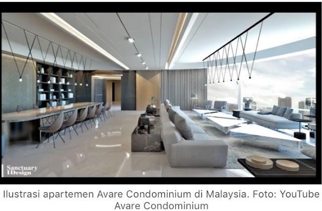 Sungguh Tajir! Lihat Nih Apartemen Mewah Senilai Rp 8 Miliar yang Ditempati Djoko Tjandra