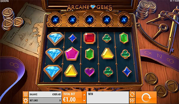 Main Slot Gratis Indonesia - Arcane Gems (Quickspin)