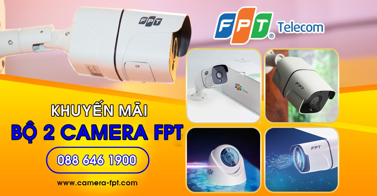 Bộ 2 camera FPT Full HD
