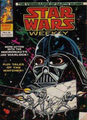 Star Wars Weekly #67, Darth Vader