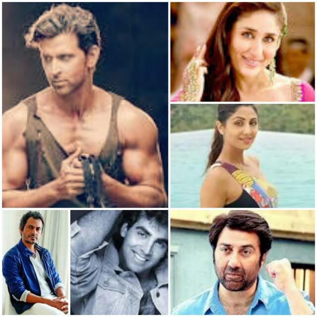 Hrithik Nawazudin Kareena Gracy | Bollywood Stars Who Share Age The Same