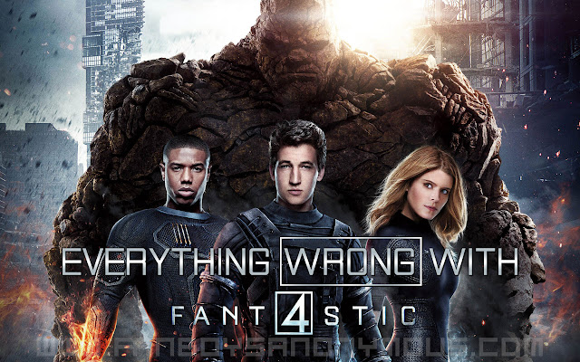 what's wrong with Fant4stic movie problems