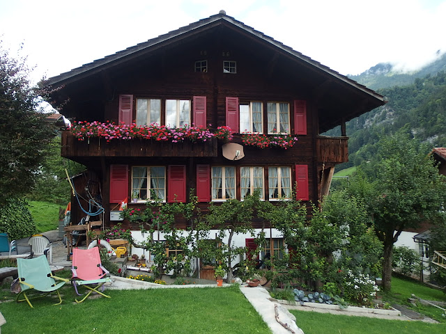A chalet in Lauterbrunnen