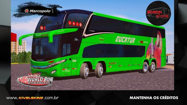PARADISO G7 1800 DD 8X2 - VIAÇÃO EUCATUR VERDE