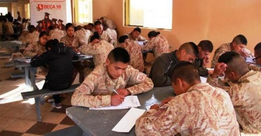 PRONABEC: 150 jóvenes postularon a Beca 18 modalidad Fuerzas Armadas - www.pronabec.gob.pe