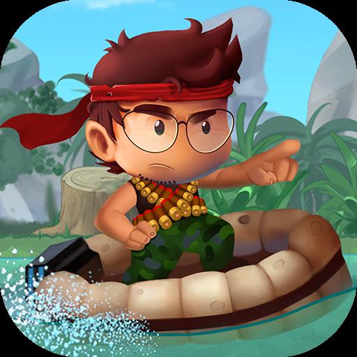 تحميل لعبه Ramboat - Jumping Shooter Game مهكره النقود لا نهايه