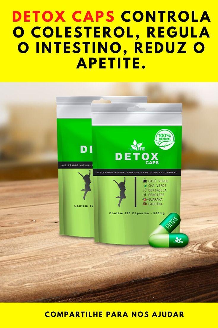 detox caps new life mercado livre