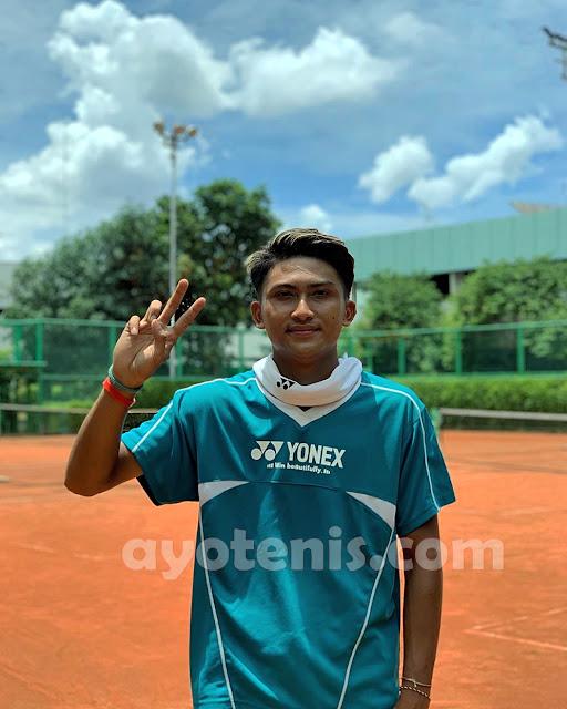 Pelatnas Tenis Libur, Ini Kegiatan yang Dilakukan Nauvaldo Jati Agatra