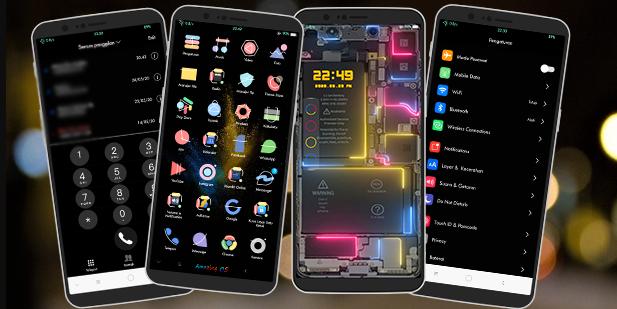 Amazing ColorOs Tema Oppo dan Realme Terbaru 2020