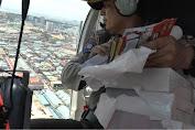 Penyebaran Brosur Gunakan Helikopter Tidak Edukatif