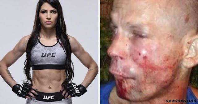 Мужик попробовал ограбить женщину, не зная, что она – профессиональный боксёр