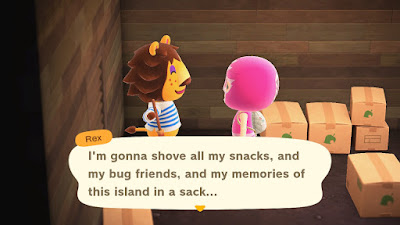 Rex on Animal Crossing