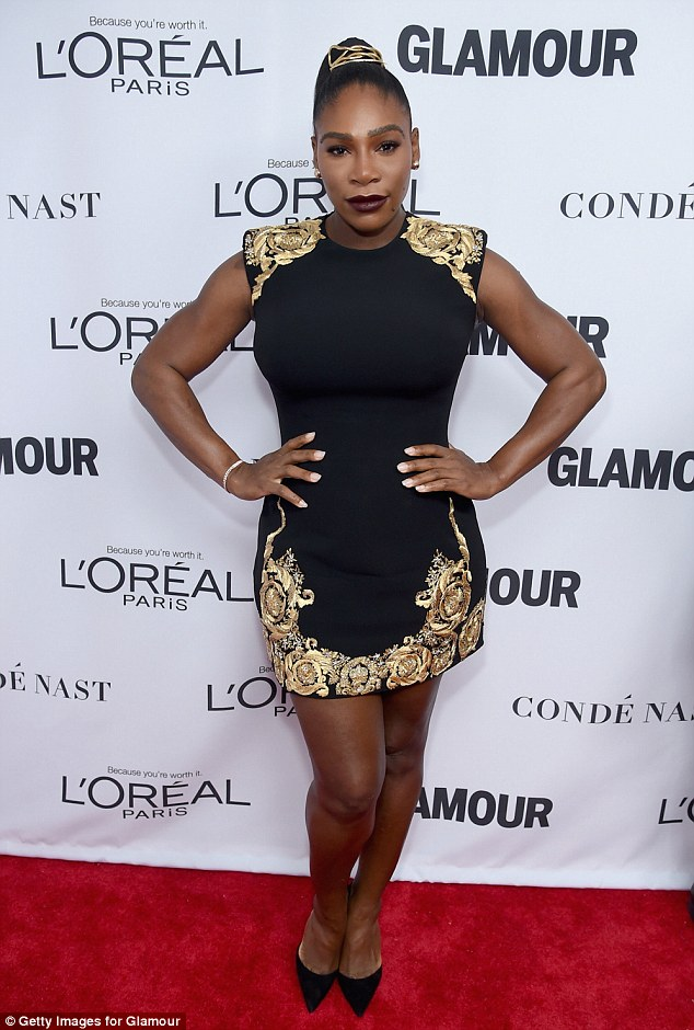 Serana Williams makes first red carpet appearance since giving birth