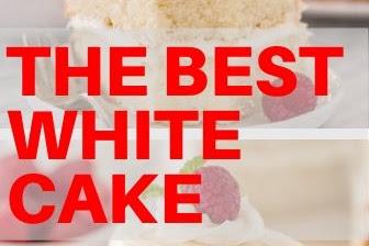 Teh Best White Cake
