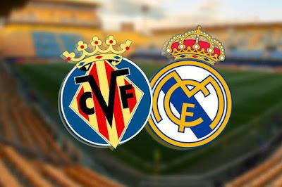 مباراة ريال مدريد ضد فياريال بث مباشر في الدوري الاسباني