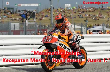 Kata-kata Marc Marquez