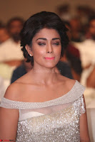 Shriya Saran in Stunning White Off Shoulder Gown at Nakshatram music launch ~  Exclusive (109).JPG
