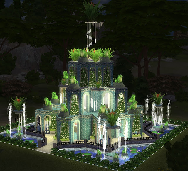 Храм Дождя, для The Sims 4, симс 4, Sims 4, строительство в Sims 4, лоты в Sims 4, общественные участки в Sims 4, парк в Sims 4, храм а Sims 4, дома для Sims 4, дома для маленьких участков Sims 4, как построить красивый дом в Sims 4, общественные постройки в Sims 4, храм в джунглях, дом в виде пирпмиды в Sims 4, дом для участка 20х20 в симс 4, компьюикрные игры, игры для девочек, игры про строительство, симулятор жизни,