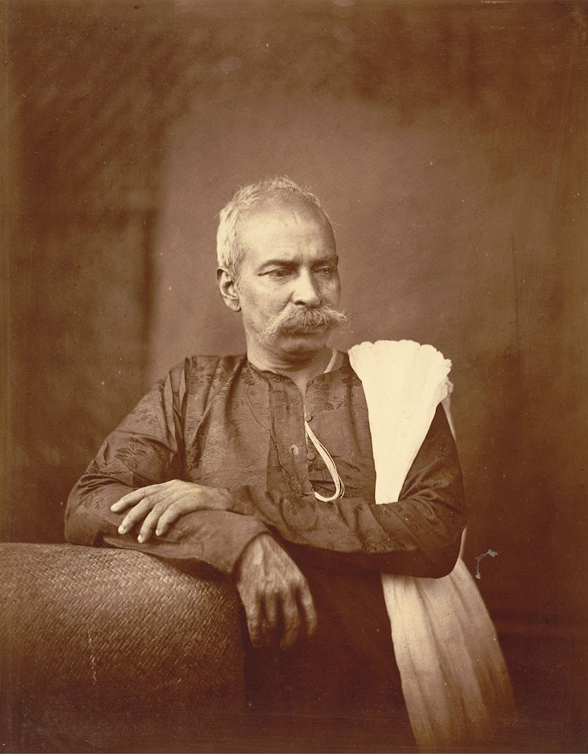 Portrait of a  Kulin Brahman (High Caste Priest) - Eastern Bengal 1860's