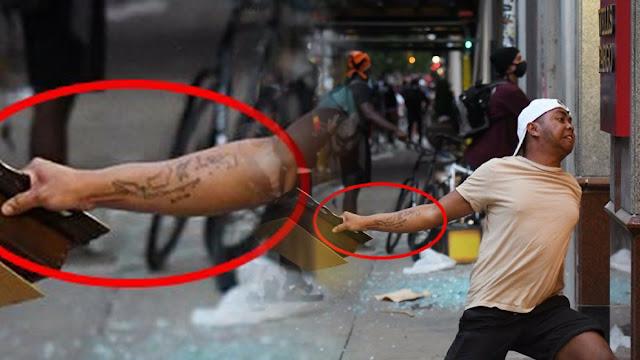 Unggah Foto Ikut Kerusuhan AS, Pria Bertato Peta Indonesia Minta Maaf: Saya Menyesal