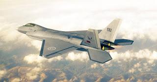 Ilustrasi Jet Tempur Siluman TF-X